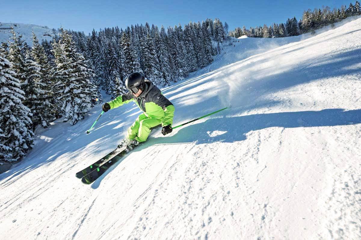 Как выбрать горные лыжи? — Блог «Спорт-Марафон»