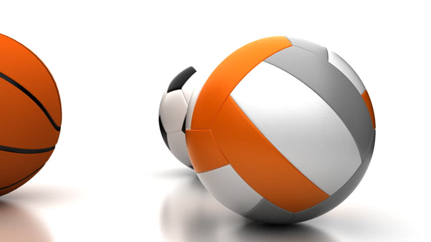 Football, Basketball and Volleyball (seamless) Stock Footage Video (100%  Royalty-free) 1952098 | Shutterstock